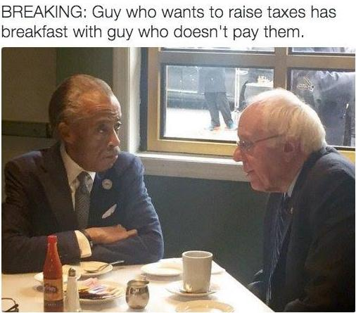 Bernie & Sharpton-photo