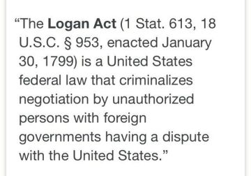 The Logan Act-USA