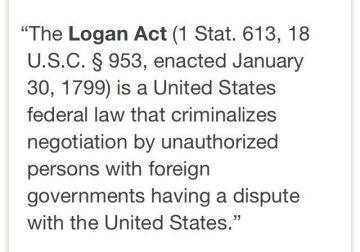 The Logan Act-USA